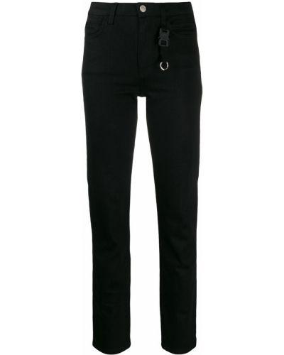 Облегающие зауженные джинсы - черные Alix