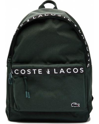 Синяя сумка из крокодила Lacoste