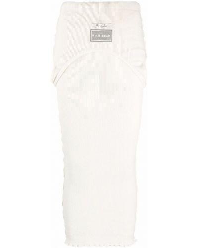 Biała spódnica Mm6 Maison Margiela