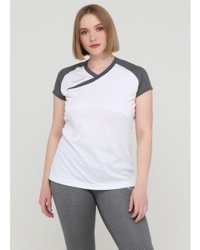 Спортивная футболка - белая Dunlop