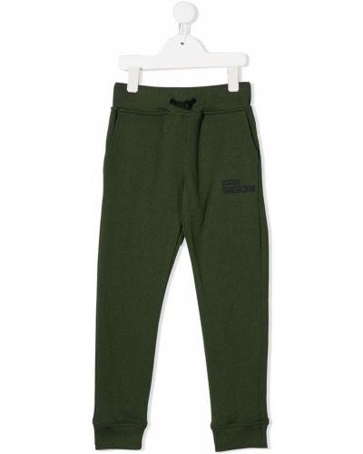 Зеленые брюки на резинке Ai Riders On The Storm Kids