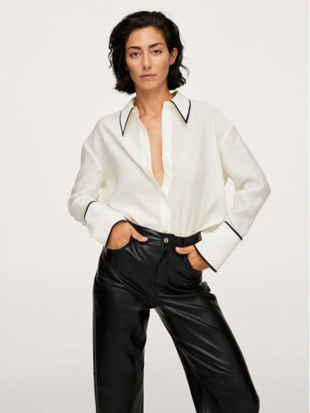 Biała koszula - biała Mango