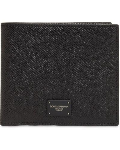 Кожаный кошелек с карманами со шлицей Dolce & Gabbana