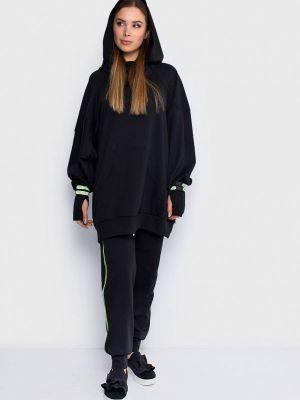 Спортивный костюм черный Malaeva