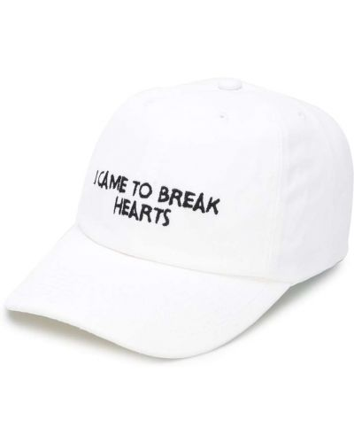 Biała czapka z daszkiem Nasaseasons
