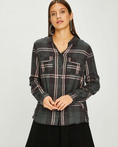 Блузка с длинным рукавом из вискозы прямая Review