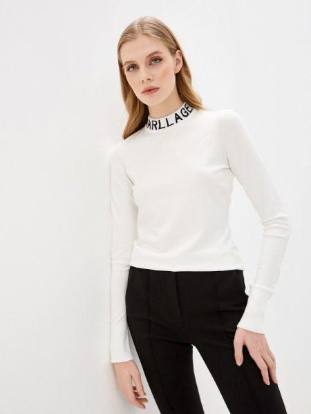 Свитер белый весенний Karl Lagerfeld