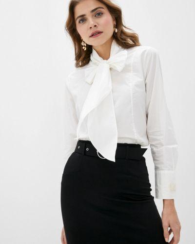 С рукавами белая блузка Scotch&soda