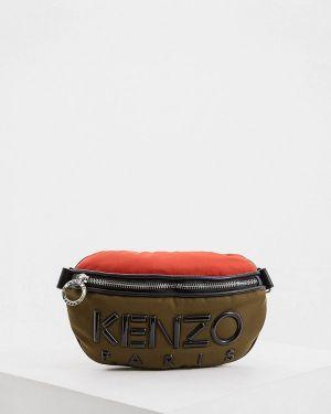 Кожаная сумка поясная из искусственной кожи Kenzo