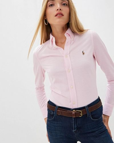 Рубашка с длинным рукавом розовый Polo Ralph Lauren