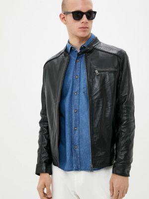 Кожаная куртка - черная Felix Hardy