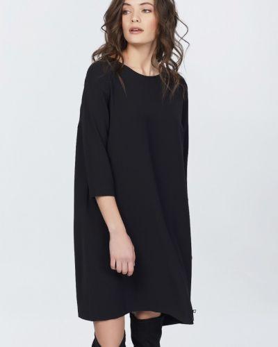 Платье мини с V-образным вырезом с поясом Fly