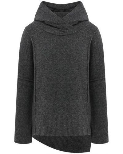 Шерстяной серый свитер Isabel Benenato