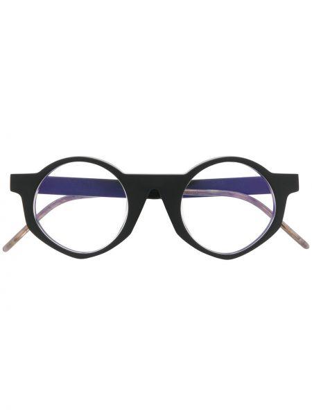 Złote czarne okulary So.ya