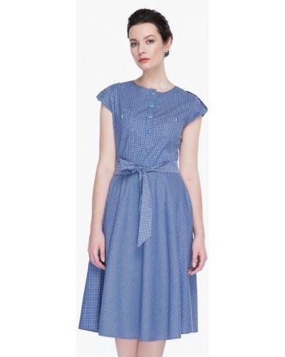 Синее платье весеннее Gregory