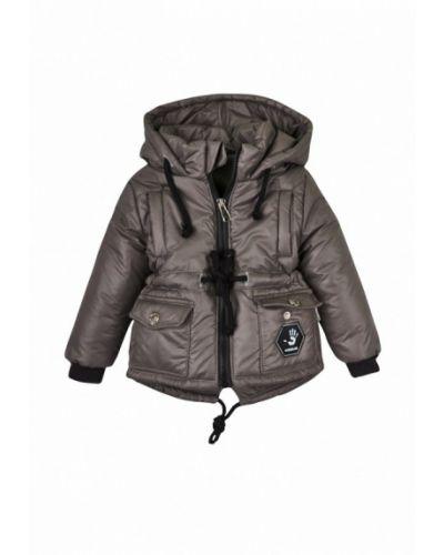 Куртка теплая серая Одягайко