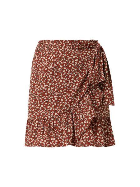 Spódnica mini z falbanami rozkloszowana Only
