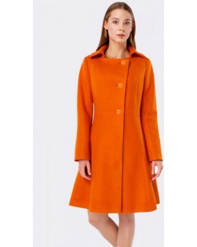 Пальто с капюшоном Cat Orange