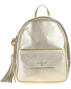 Кожаный рюкзак - золотой Patrizia Pepe