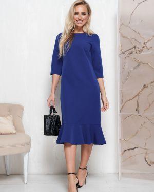 Платье миди платье-сарафан с оборками Leleya