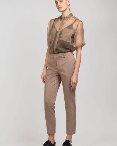Блузка шелковая с карманами Vassa&co