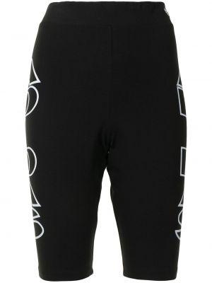 Хлопковые шорты - черные Adidas