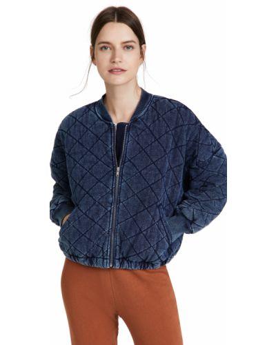 Стеганая куртка - синяя Bb Dakota