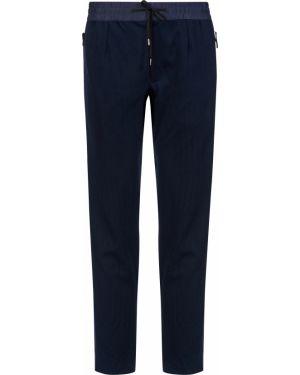 Спортивные брюки из полиэстера - синие Parajumpers