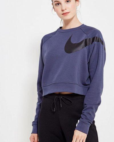 Синий свитшот Nike