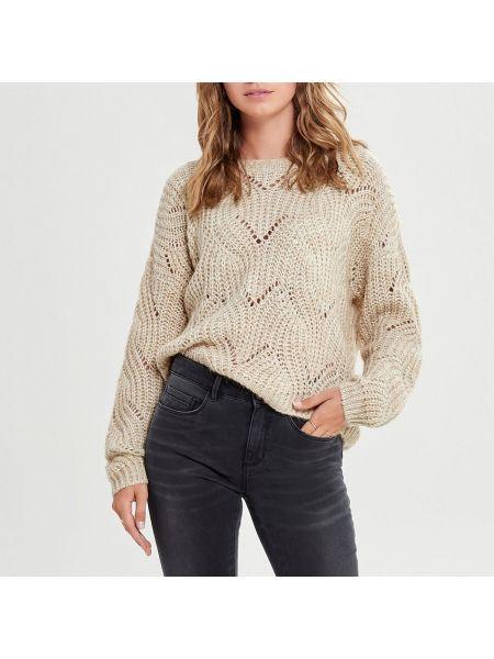 Пуловер длинный трикотажный Only