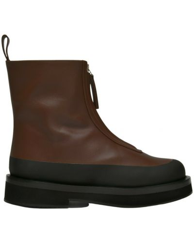 Brązowe ankle boots Neous