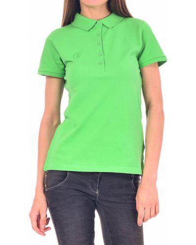 Поло зеленый Gf Ferre