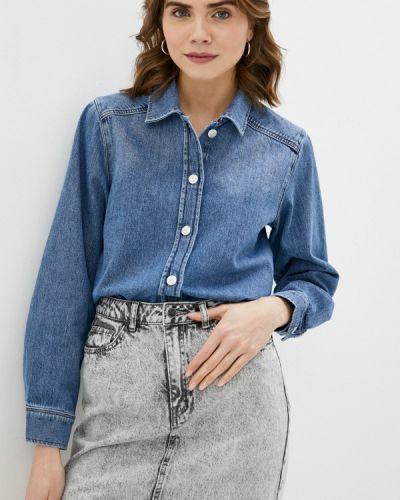 Джинсовая рубашка - синяя Selected Femme