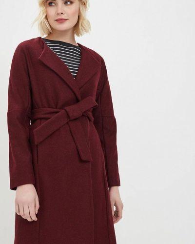 Пальто демисезонное бордовый Trucco