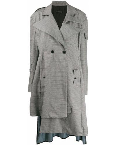 Пальто классическое айвори Barbara Bologna