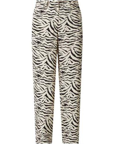 Spodnie z wiskozy - białe Modström
