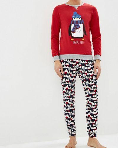 Красная пижама United Colors Of Benetton