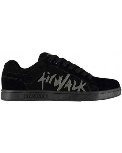 Текстильные кеды - черные Airwalk