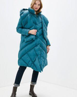 Бирюзовая зимняя куртка Odri Mio