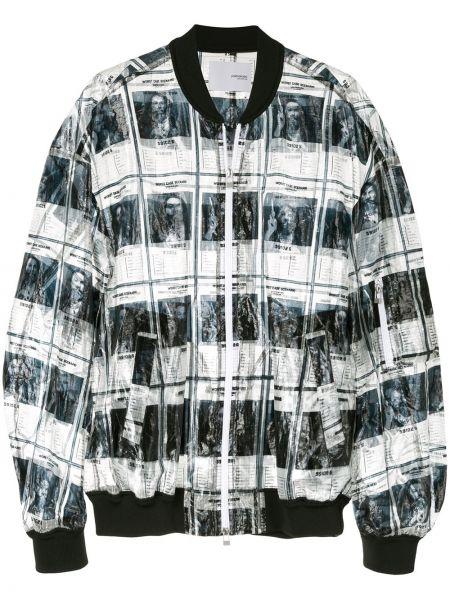 Белая куртка с манжетами Yoshiokubo