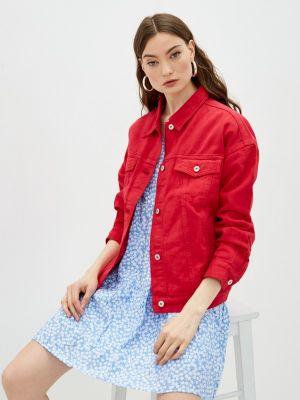 Красная джинсовая куртка Befree