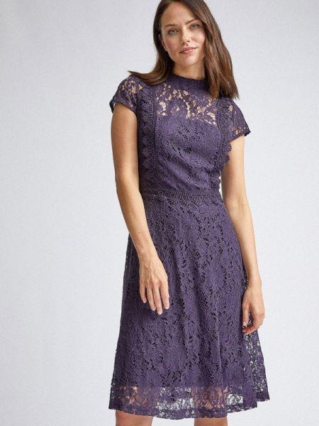 Вечернее платье фиолетовый весеннее Dorothy Perkins