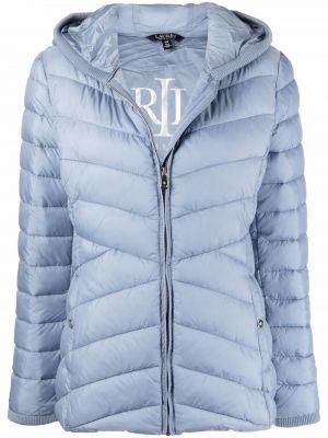 Стеганая куртка - синяя Lauren Ralph Lauren