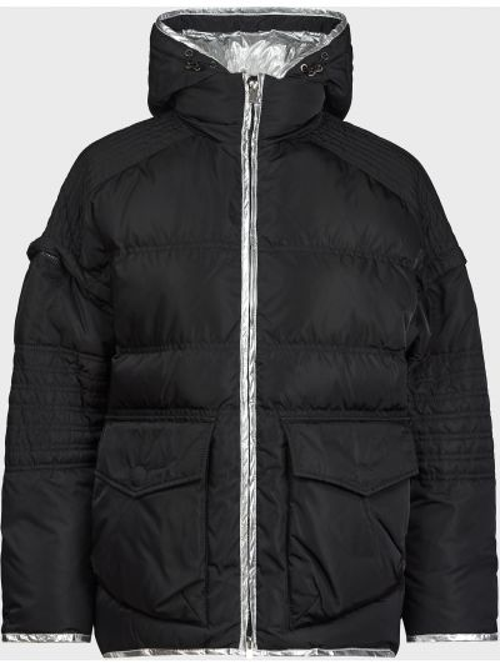 Куртка на молнии - черная Pinko