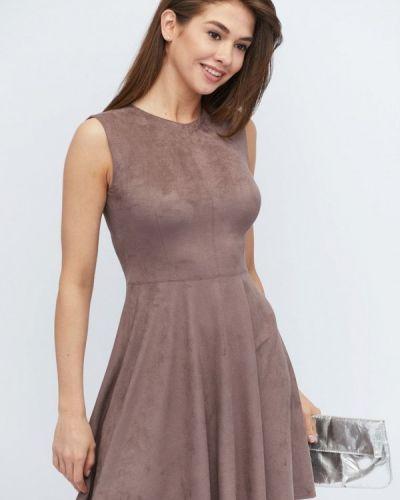 Платье весеннее бежевое Carica&x-woyz
