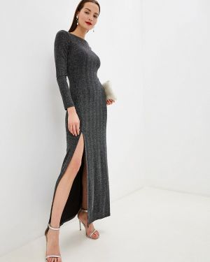 Серое вечернее платье Zarina