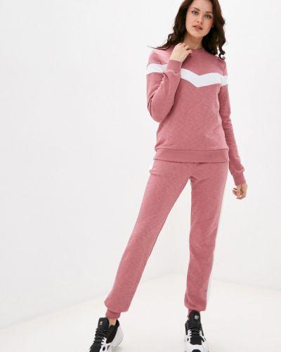 Костюмный розовый спортивный костюм D.s