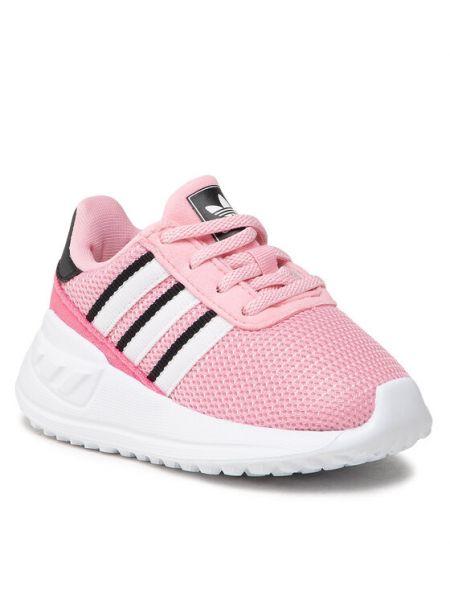 Mokasyny - różowe Adidas