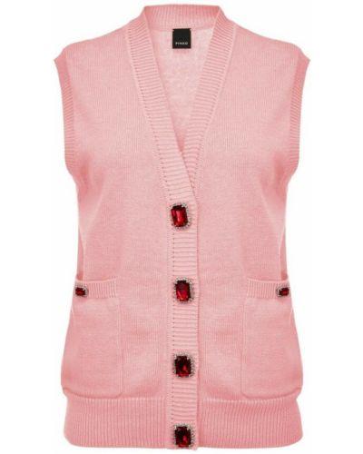 Kamizelka - różowa Pinko