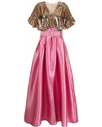 Różowa złota sukienka Sachin & Babi